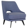 Claude Armchair - Blue - Distinctive Designs - Armchairs - SR-LOUNGECHAIR2 - 1