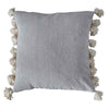 Gallery Home Cotton Tassel Cushion in Natural - Gallery - Cushions - 5059413138508 - 1