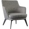 Cyril Armchair - Grey - Distinctive Designs - Armchairs - SR-LOUNGECHAIR4 - 1