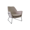 Delilah Armchair - Grey Velvet - Distinctive Designs - Armchairs - SR-GREYWATERPROOFARMCHAIR1 - 1