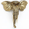 Elephant Head Wall Deco 31cm - Nortje - Decor - S-BU0082 - 1