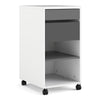 Function plus - Function plus Mobile File Cabinet 2 Drawers + 1 Shelf White Grey - FTG - Desks - 7197048149cn - 1