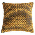 Gallery Direct Cambo Pom Pom Cushion Ochre - Gallery - Cushions - 5055999249782 - 1