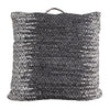 Gallery Direct Garcia Floor Cushion in Charcoal - Gallery - Cushions - 5055999249492 - 1
