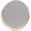Gillmore | Federico Wall Hanging Mirror | Brass Surround - Gillmore Space - Mirror - 118-680 - 1
