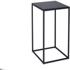 Gillmore Space Kensal Square Lamp Stand | Black Glass with Black Base - Gillmore Space - Lamp Table - 714-241 - 1