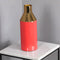 Gold Stem Living Coral Vase by Native Home & Lifestyle - Native Home & Lifestyle - Vases - VASE-GOLD-CORAL - 2