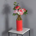Gold Stem Living Coral Vase by Native Home & Lifestyle - Native Home & Lifestyle - Vases - VASE-GOLD-CORAL - 6