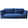 Greenwich 3-seater Sofa - Marine Blue - Distinctive Designs - Sofas - 1