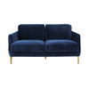 Gustav 2-seater Sofa - Dark Blue - Distinctive Designs - Sofas - SR-2SEATERSOFA-BLUE1 - 1