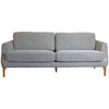 Gustav 3-seater Sofa - Grey - Distinctive Designs - Sofas - SR-3SEATERSOFA-FANCY6-1 - 1
