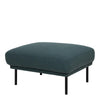 Larvik Footstool - Dark Green Black Legs - FTG - Footstools - 60360383 - 1