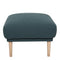 Larvik Footstool - Dark Green Oak Legs - FTG - Footstools - 6036038347 - 2