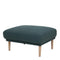 Larvik Footstool - Dark Green Oak Legs - FTG - Footstools - 6036038347 - 1