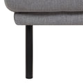 Larvik Footstool - Grey Black Legs - FTG - Footstools - 60360381 - 3