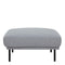 Larvik Footstool - Grey Black Legs - FTG - Footstools - 60360381 - 4