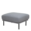 Larvik Footstool - Grey Black Legs - FTG - Footstools - 60360381 - 1