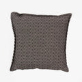 Lotus Black Geometric Cushion - Brabbu - SP20-BR-Cshn-LotusBlackGeometric - 1