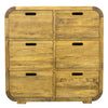 Lucy Lounge 6 Drawer Chest - Gaia Living - Living Room - MLN62 - 1