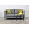 Manhattan 2-seater Sofa - Nickel - Distinctive Designs - Sofas - 3