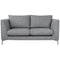 Manhattan 2-seater Sofa - Nickel - Distinctive Designs - Sofas - 1