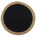 Milano Soft Jute Rug with Charcoal Centre by Native Home & Lifestyle - Native Home & Lifestyle - Rugs - J-ROUND-CHARC-120 - 2