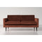 Model 01 Velvet 2 Seater Sofa - Brick by Swyft | Swyft Home - Swyft - Sofas - SWYF-020-VB - 1