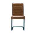Montana Dining Chair Brown (pack of 2) - Lenora - Dining Chairs - MONTCHAIR - 1