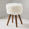 Natural Sheepskin Stool by Native Home & Lifestyle - Native Home & Lifestyle - Stools - ST-SHEEP-NAT - 1