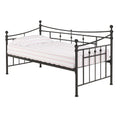 Olivia Black Day Bed - Lenora - Day Beds - OLIVIABLA - 1