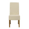 Padstow Chair Cream (pack of 2) - Lenora - Dining Chairs - PADSTCRE - 1