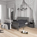 Paris - King Bed (160 X 200) in Matt Grey - FTG - Wood Beds - 70176715igig - 2