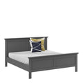 Paris - King Bed (160 X 200) in Matt Grey - FTG - Wood Beds - 70176715igig - 5