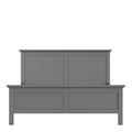 Paris - King Bed (160 X 200) in Matt Grey - FTG - Wood Beds - 70176715igig - 6