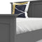 Paris - King Bed (160 X 200) in Matt Grey - FTG - Wood Beds - 70176715igig - 9