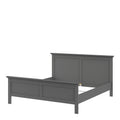 Paris - King Bed (160 X 200) in Matt Grey - FTG - Wood Beds - 70176715igig - 7