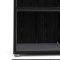 Prima - Prima Bookcase 2 Shelves in Black Woodgrain - FTG - Bookcases - 7208042361 - 9