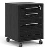 Prima - Prima Mobile File Cabinet in Black Woodgrain - FTG - Cabinets - 7208041861 - 1