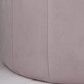 Round Pastel Pink Plush Stool by Native Home & Lifestyle - Native Home & Lifestyle - Stools - ST-FOAM-PINK - 2