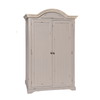 Wardrobe Hanging with Shelf <br>Dimensions: Width: 130cm Depth: 65cm Height: 205cm <br>Finish: Distressed Painted Limed To...