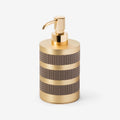 Saturno Soap Dispenser - Pinetti - S19-PnT-Bthrm-SaturnoSoapDispenser-ChromedBrass - 1