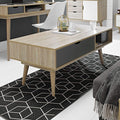 Scandi Coffee Table Grey - Lenora - Coffee Tables - SCANDICOFGREY - 2