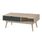 Scandi Coffee Table Grey - Lenora - Coffee Tables - SCANDICOFGREY - 1