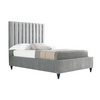 Shoreditch Bed - King - Distinctive Designs - Beds - SR-SHOREDITCH-GREY - 1