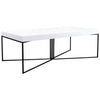 Sierra Coffee Table - Distinctive Designs - Coffee Tables - SR-COFFEETABLE-WHITE1 - 1