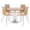 Soho Dining Set Oak Veneer - Lenora - Dining Sets - SOHOOAK - 1