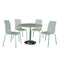 Soho Dining Set White - Lenora - Dining Sets - SOHOWHI - 1