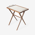 Tall Walnut Table - Pinetti - S19-PnT-Try-TallWalnutTable-Chrm - 1