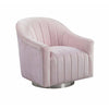 Tiffany Swivel Chair Pink - Lenora - Armchairs - TIFFPINK - 1