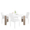 Toronto - Dining Set Package Toronto 160 Cm Dining Table + 6 Milan High back Chair White. - FTG - Dining Sets - 4204244601 - 1
